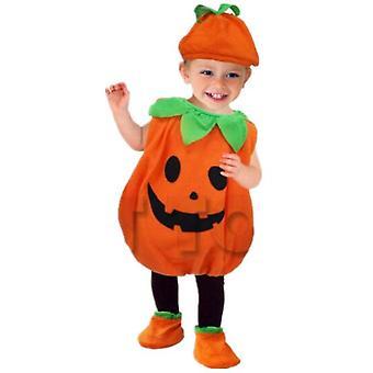 Halloween Gyerekek Pumpkin Fancy Ruha Jelmez Horror Outfit Fiúk Lányok