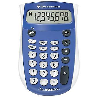 Texas Instruments Pocket Calculator with Large Display (503SV/FBL/11E1)