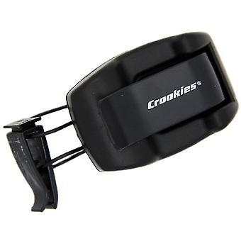 Croakies klosz Dock okulary osłona przeciwsłoneczna Clip - czarny