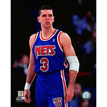 Drazen Petrovic 1992-93 Action Photo Print