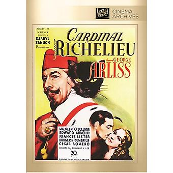 Kardinaal de Richelieu [DVD] USA importeren