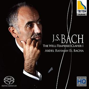 J.S. Bach - Bach: The tonkonsten Clavier, bok 1 [CD] USA import