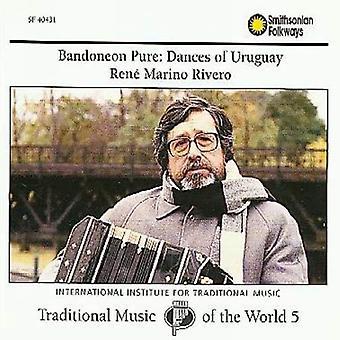 Rene Marino Rivero - bandonéon Pure: Danses de l'Uruguay [CD] USA import