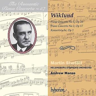 A. Wiklund - Adolf Wiklund: Piano Concertos Nos. 1 & 2; Konsertstycke [CD] USA import
