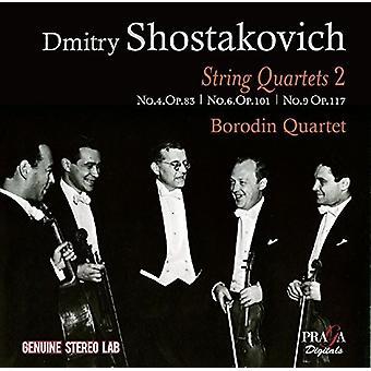 Shostakovich / Borodin Quartet - String Quartets 2 [CD] USA import