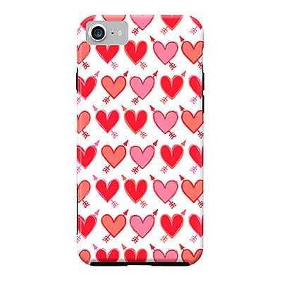 ArtsCase Designers Cases Peachy ArrowHearts for Tough iPhone 8  / iPhone 7