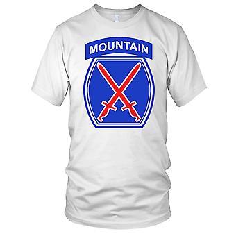 US-Armee 10. Mountain Division Elite Kids T Shirt