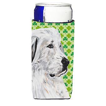 Pyrenäenberghund Lucky Shamrock St. Patricks Tag Ultra Getränke Isolatoren für sl