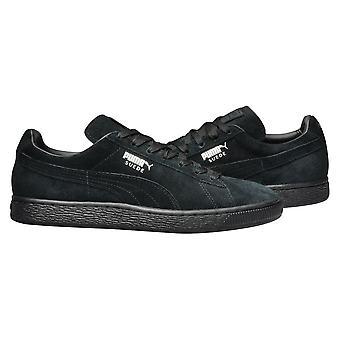 プーマ スエード クラシック Blackdark シャドウ 35263477 普遍的なすべての年の男性靴