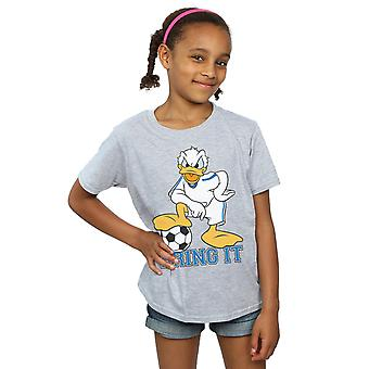 Disney Mädchen Donald Duck bringen es T-Shirt