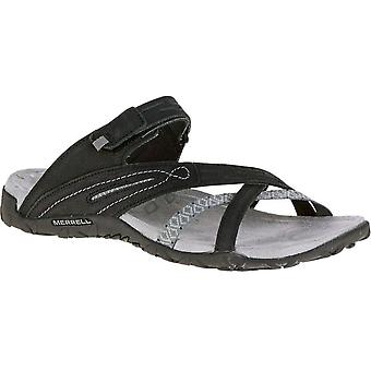 Merrell Womens/Ladies Terran Weave II Leather Adjustable Slide Sandals