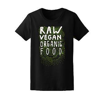 RAW Vegan bio Tee femmes-Image de Shutterstock