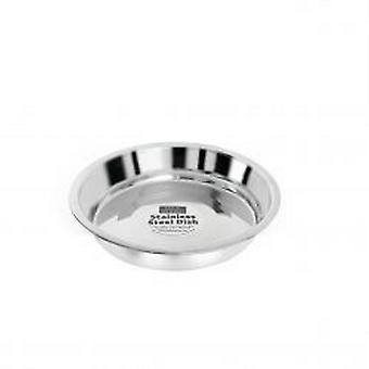 Fed ´N´ Watered Stainless Steel Kitty & Puppy Flat Pans