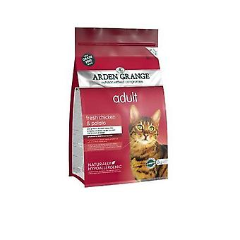 Arden Grange Dry Cat Food Adult Chicken 2 Kg