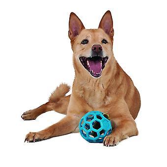 JW Hol-Ee Roller Größe 5 Zoll, Roller Rubber Hundespielzeug, mittelgroß