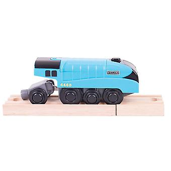 Bigjigs Rail Mallard Battery Operated Engine Train Locomotive Carriage Railway