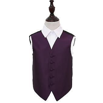 Cadbury paars Griekse belangrijke bruiloft vest voor jongens