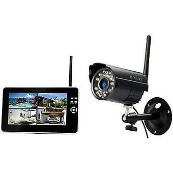 Technaxx TX-28 4433 RF-CCTV camera set 4-kanaals incl. 1 camera 2.4 GHz
