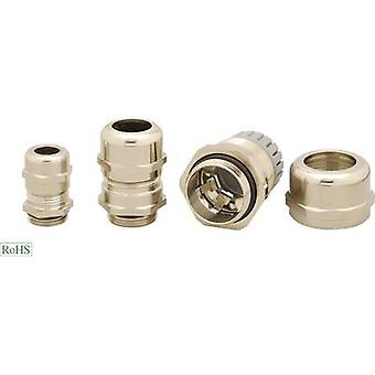 Helukabel HT-MS-EP4 905185 Cable gland EMC M25 Brass Brass 1 pc(s)