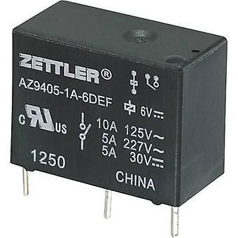 Zettler Electronics AZ9405-1A-9DEF PCB relay 9 V DC 10 A 1 maker 1 pc(s)
