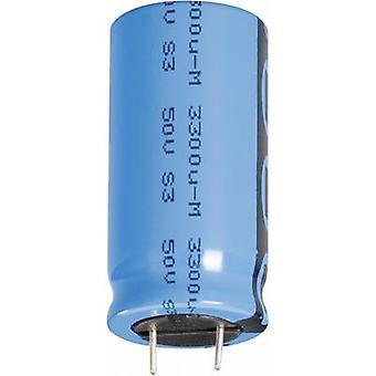 Condensador electrolítico Radial de Vishay 2222 048 60222 plomo 7.5 mm 2200 μF 35 V 20% (Ø x H) 16 x 31 mm 1 PC