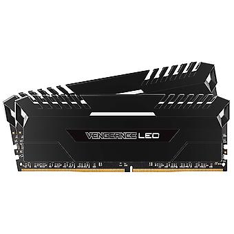 Corsair Vengeance LED 16 GB (2 x 8 GB) DDR4 3000MHz C15 XMP 2.0 Enthusiast LED Illuminated Memory Kit