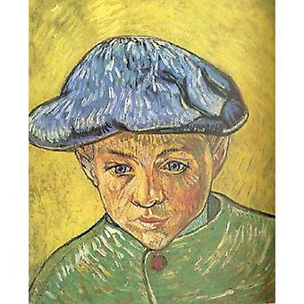 Portrait of Camille Roulin, Vincent Van Gogh, 40.5 x 32.5 cm