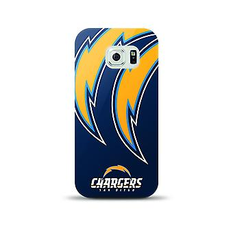 Mizco Sports NFL Oversized Snapback TPU Case for Samsung Galaxy S6 (San Diego Chargers)