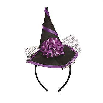 Witch Hat Mini On Headband