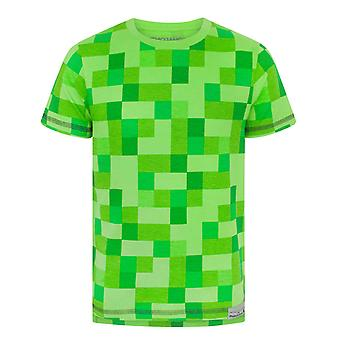 Minecraft All Over klimplant Boy's T-Shirt