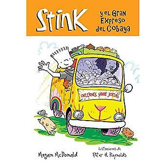 Stinken y el Gran Expreso del Cobaya (Stink en de grote cavia Express)