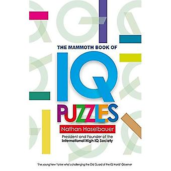 Nya IQ-pussel mammut bok