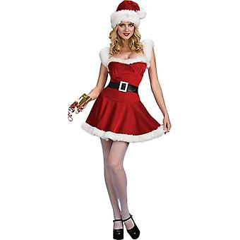 Naughty Santa Adult Costume
