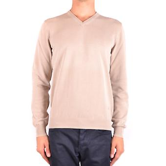Fay Ezbc035021 Men's Bege Cotton Sweater