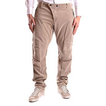 Yohji Yamamoto Ezbc106008 Men's Beige Velvet Pants