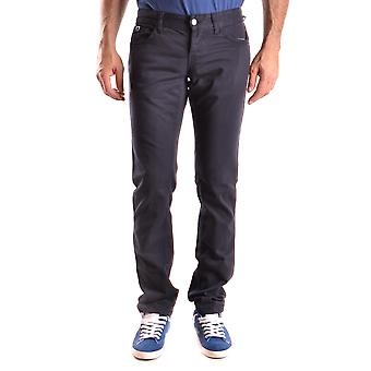 John Richmond Ezbc082001 Men's Blue Cotton Jeans