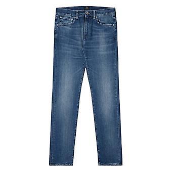 Edwin Braxton azul ED-80 denim Slim cônico Jean