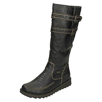 Dames Remonte Casual laarzen knie hoge D8884