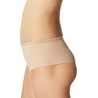 Maison Lejaby 5569M-389 Women's Nuage Pur Power Skin Beige Satin Knickers Panty Full Brief