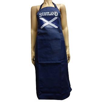Union Jack use delantal de la bandera de Escocia