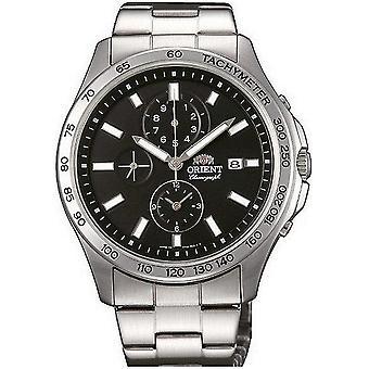 Orient sportowej mężczyzn zegarek kwarcowy chronograf TT0X002B