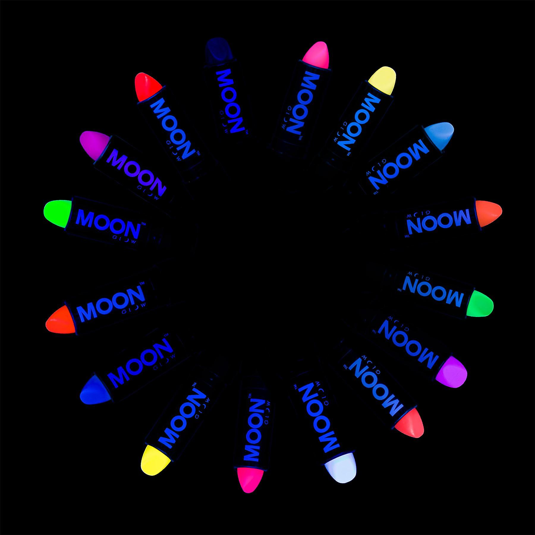 Moon Glow - 4.5g UV Lipstick - Intense Set of 16