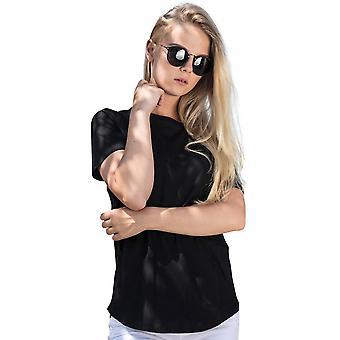 Cotton Addict Womens Slim Fit Short Sleeve Casual T Shirt