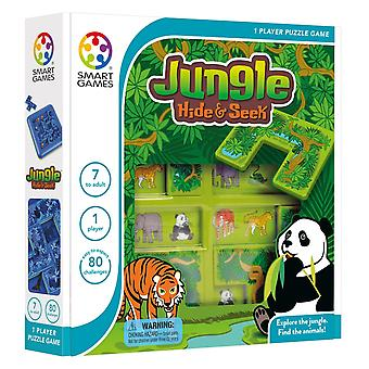 SmartGames Jungle Hide & Seek One Player Puzzle Game