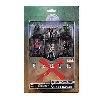 Marvel HeroClix Earth X Starter Set Board Game