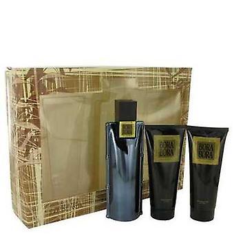 Bora Bora By Liz Claiborne Gift Set -- 3.4 Oz Cologne Spray + 3.4 Oz Body Moisturizer + 3.4 Oz Hair V728-449136