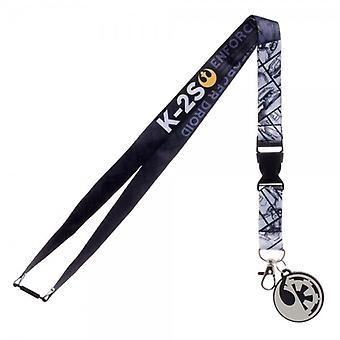 Lanyard - Rogue One - K-2S New Licensed la4ky6stw