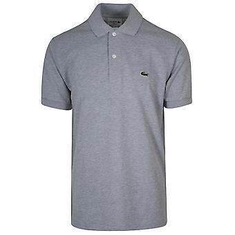 Lacoste klassisk grå Polo skjorte