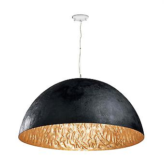 Faro - Magma noir et or pendentif FARO29468