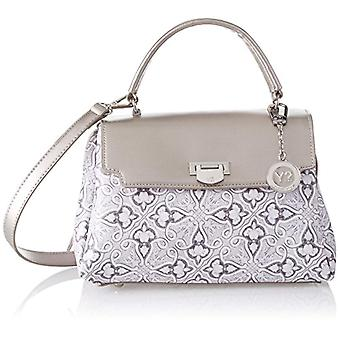YNOT Ve001/pe18 Women's Silver Shoulder Bag 14x27x27 cm (W x H x L)